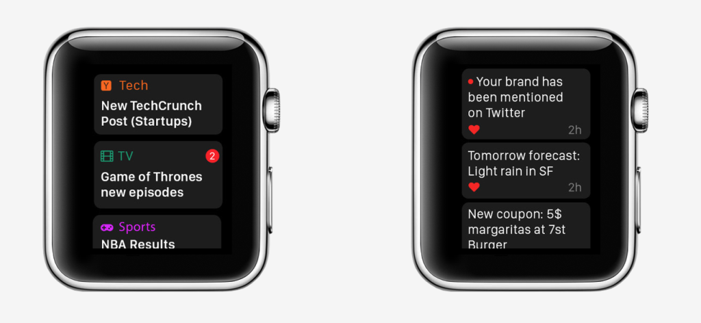 Hooks is the Ultimate Notification App for Apple Watch