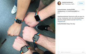 Apple Creates Limited Edition Rainbow Band for San Francisco Pride